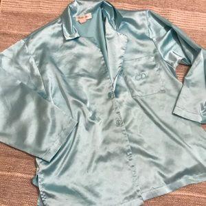 Christian Dior silky night top pajama top